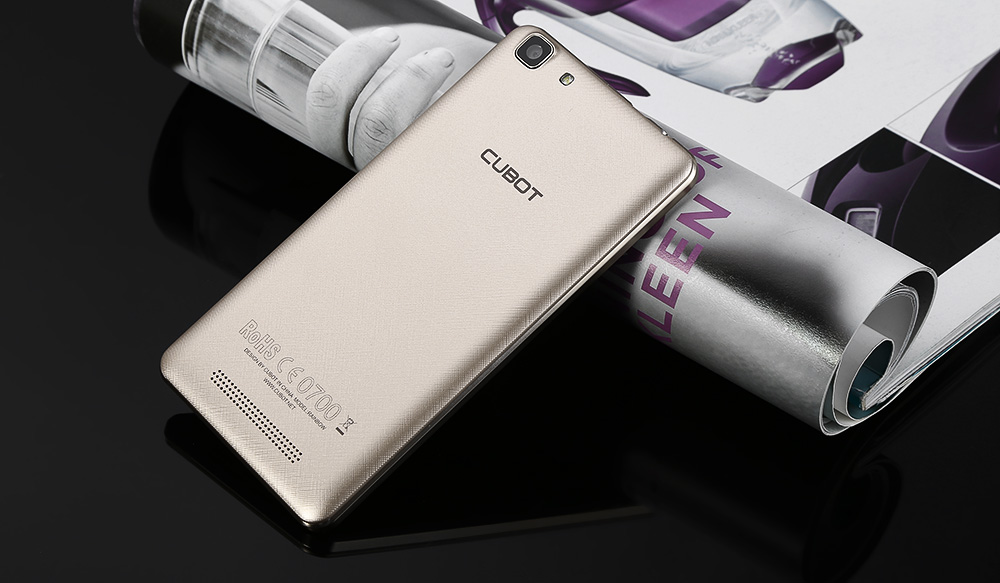 Cubot Rainbow Android 6.0 5.0 inch HD Screen 3G Smartphone MTK6580 Quad Core 1.3GHz 1GB RAM 16GB ROM Gravity Sensor