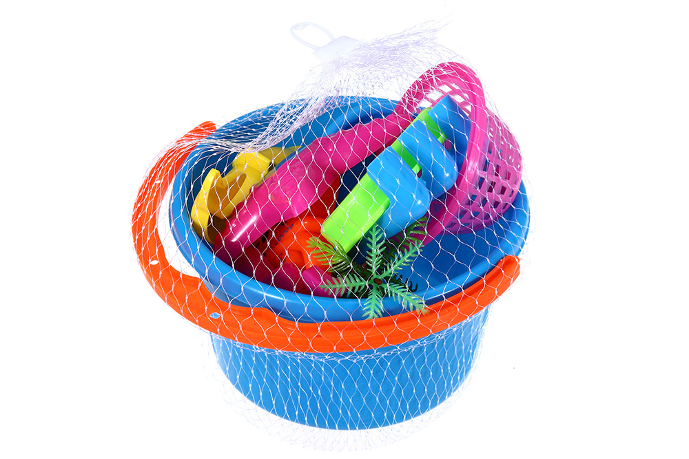 10pcs / Set Sand Beach Tool Seaside Bucket Outdoor Sport Toy for Children