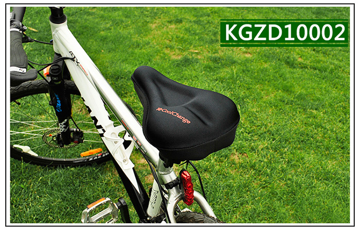 Coolchange KGZD1001 / KGZD1002 / KGZD1003 3D Comfortable Bicycle Silicone  Cushion