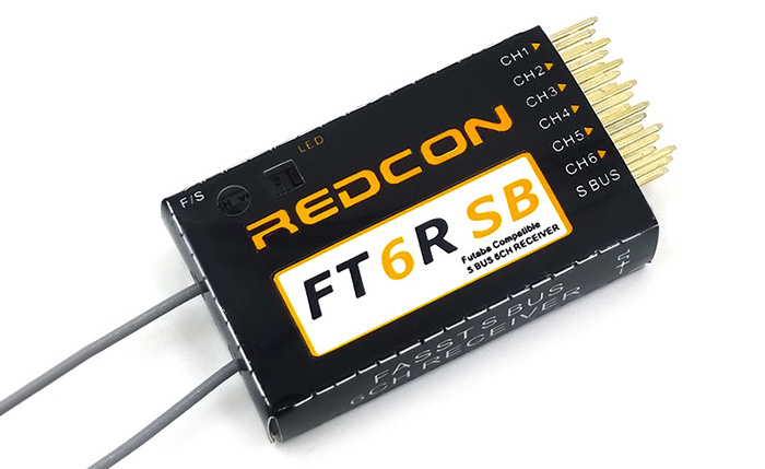 REDCON FT6RSB FASST 2.4G 6CH HV 500mA Receiver Spare Part