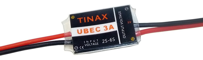 TIANX 6S 3A UBEC 5V - 6V Module Switching Voltage Regulator for Multicopter