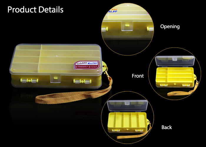 ILURE H316 Bait Box Small Fishing Accessories Hooks Case