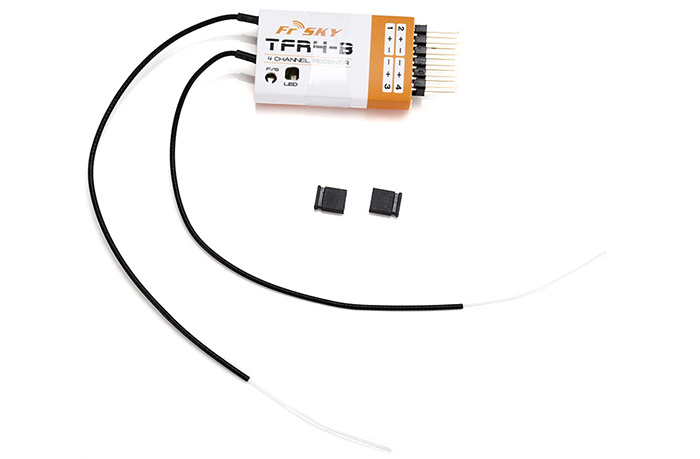 FrSky TFR4 - B 4CH 2.4G FASST Compatible Receiver RC Model Accessory