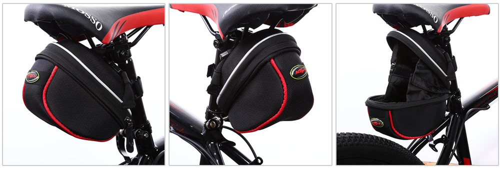 MZYRH Water Resistant Bicycle Saddle Bag