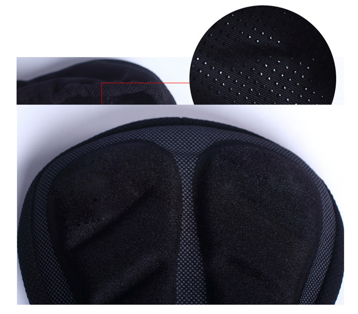 LEADBIKE A33 3D Thicken Cycling Cushion Silicone Bicycle Saddle Mountain Bike Cover