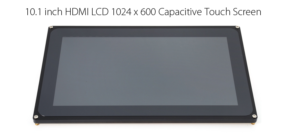 10.1 inch HDMI LCD 1024 x 600 Capacitive Touch Screen for Raspberry Pi