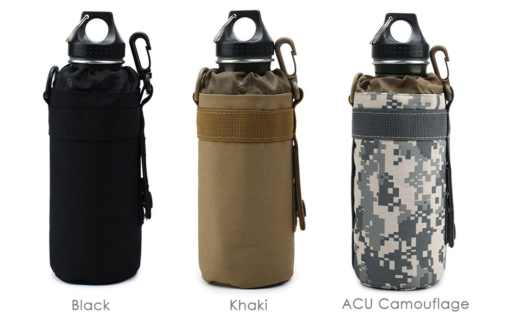 Outdoor Tactical Water Bottle Pouch