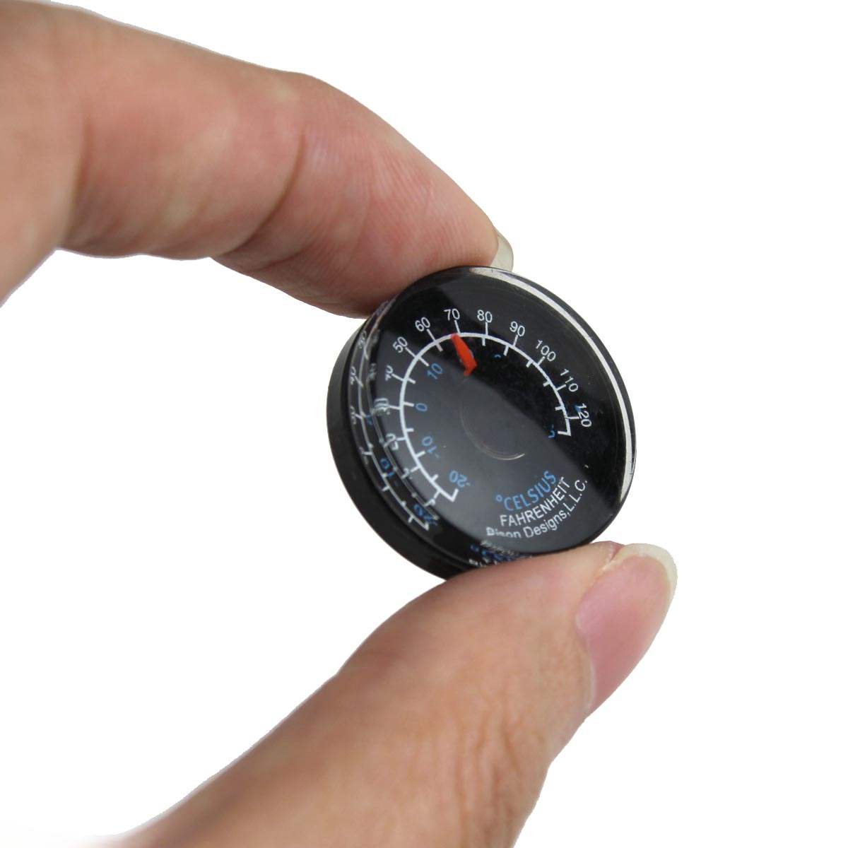 Plastic Circular Waterproof Thermometer for Household / Industry Indoor