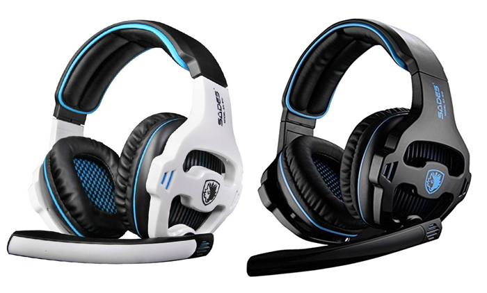 SADES SA - 810 Stereo Gaming Headset with Microphone Volume Control