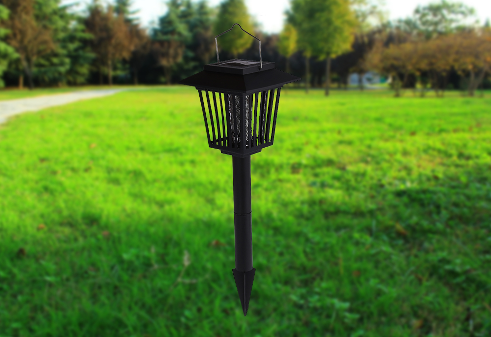 Solar Power Pest Killer Lamp for Mosquito Fly Insect Bug Pest Lawn Light