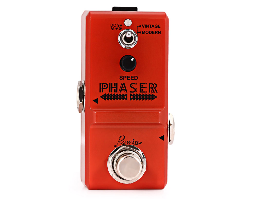 ROWIN LN - 313 Analog Phaser Guitar Effect Pedal True By Pass for Musical Instrument