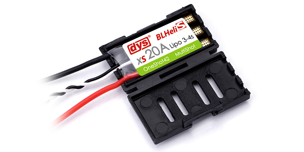 DYS XS20A 3 - 4s Lipo Brushless ESC BLHeliS DShot300 DShot600 Accessory for RC Quadcopter