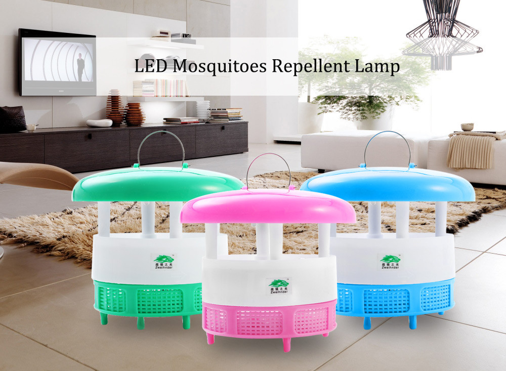Zweihnder LED Mosquitoes Repellent Lamp Photocatalyst Technology