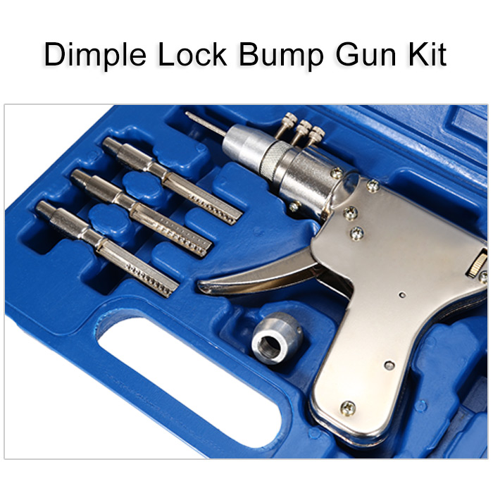 Dimple Lock Bump Gun Kit Auto Door Opener for Locksmith / Hobbyist