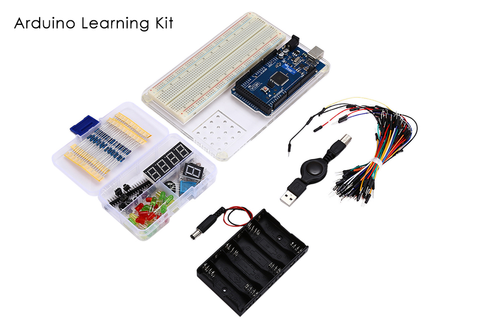 MEGA2560 R3 Experiment Platform Learning Kit for Arduino Starter