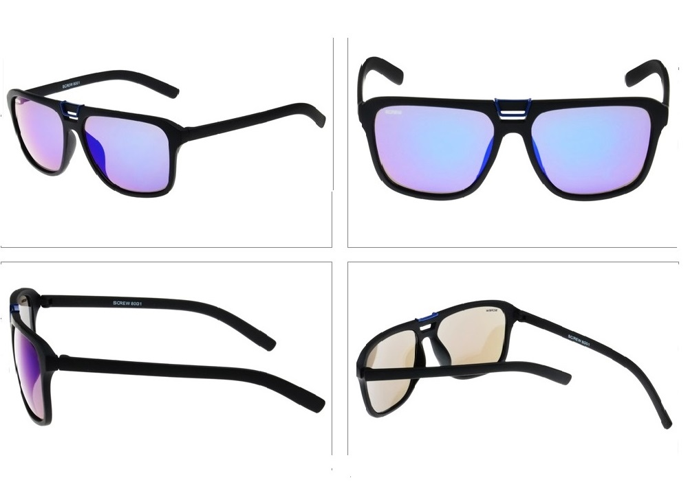 SENLAN 8001C2 Lightweight Sunglasses with PC Lens