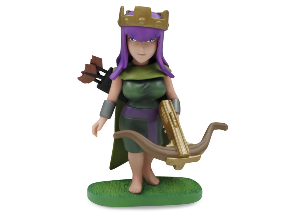 COC 15cm High Queen Figure MMORPG Video Game Model Collection Table Decor Gift for Game Players Fan