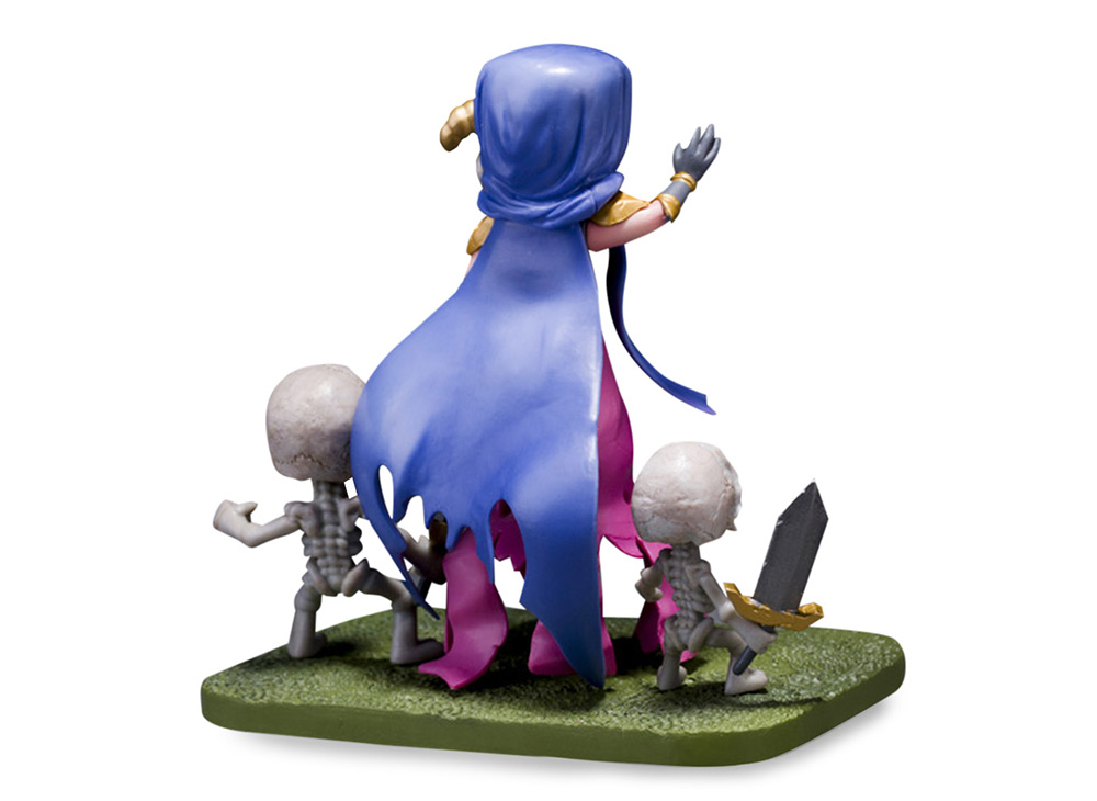 COC 15cm High Witch Figure MMORPG Video Game Model Collection Table Decor Gift for Game Players Fan