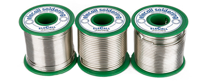 ELECALL Sn-0.7Cu Lead-free 1.0mm Solder Wire for Welding Tool
