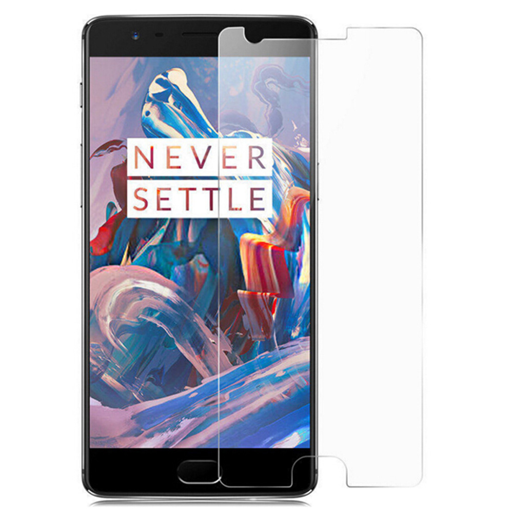 Tempered Glass Screen Protective Film for OnePlus 3 0.3mm 2.5D 9H Explosion-proof Membrane