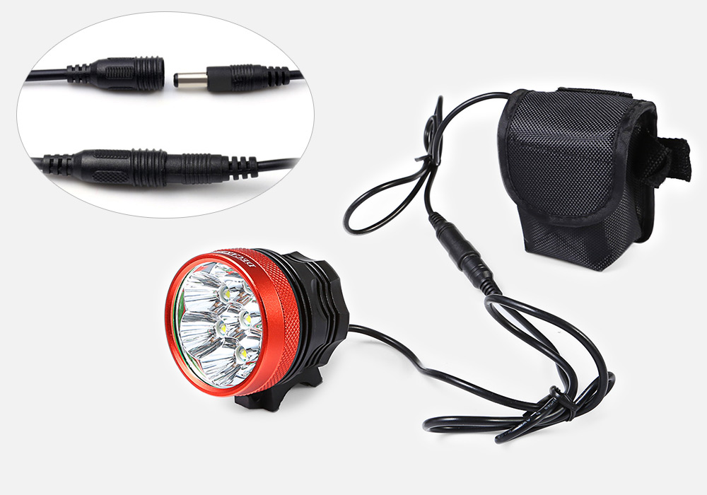 DECAKER XML - T6 3500LM 7 LEDs 3 Modes Bicycle Front Light