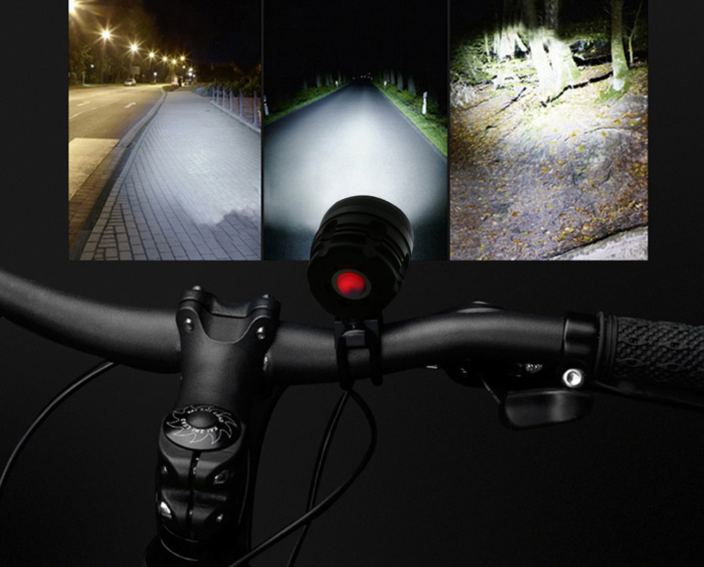 DECAKER XML - T6 4000LM 8 LEDs 3 Modes Bicycle Front Llight