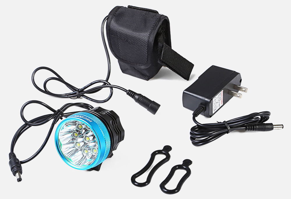 DECAKER XML - T6 4500LM 9 LEDs 3 Modes Bicycle Front Light