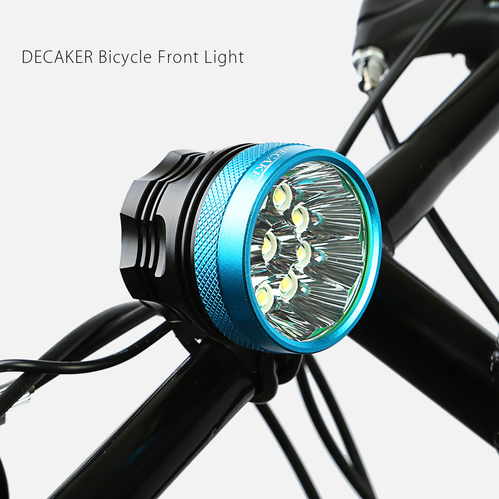 DECAKER XML - T6 4500LM 10 LEDs 3 Modes Bicycle Front Light