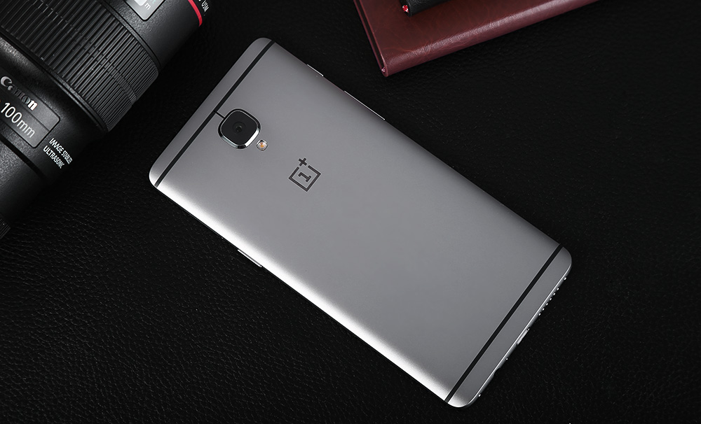 OnePlus 3 Android 6.0 5.5 inch Corning Gorilla Glass 4 Screen 4G Smartphone Snapdragon 820 Quad Core 2.2GHz 6GB RAM 64GB ROM Fingerprint Scanner GPS