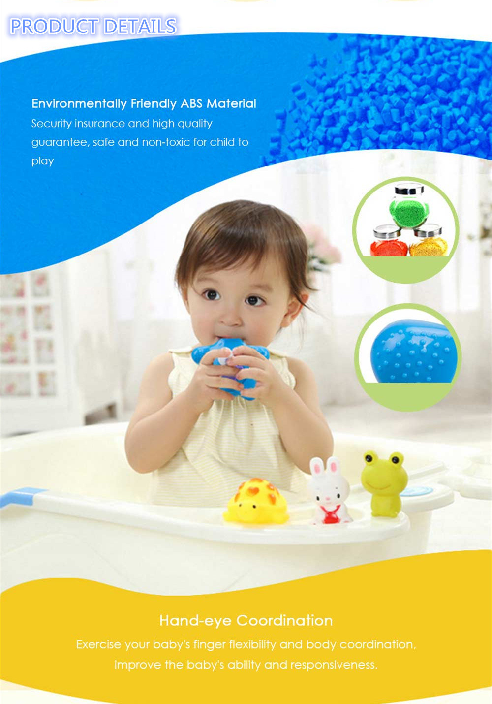 Lovely Star Pattern Bath Shower Toy Electric Water Spray for Kid