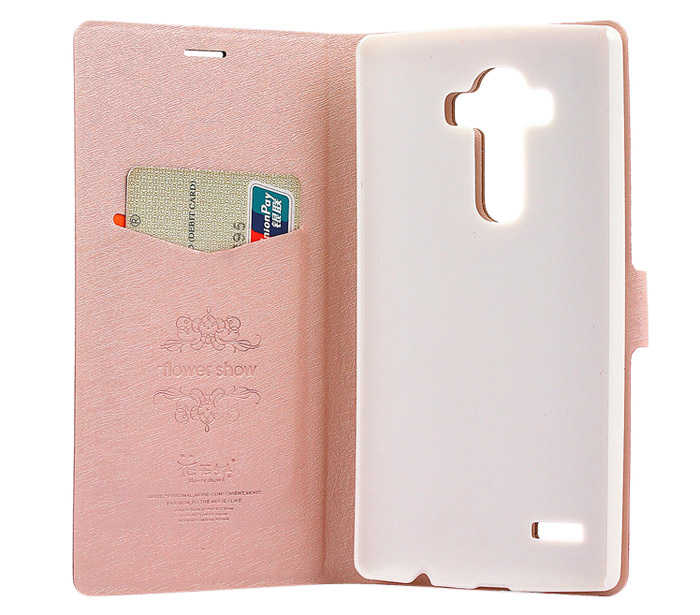 ASLING Protective Full Body Flip Case for LG G4 PU Leather Shell with Stand Card Slot