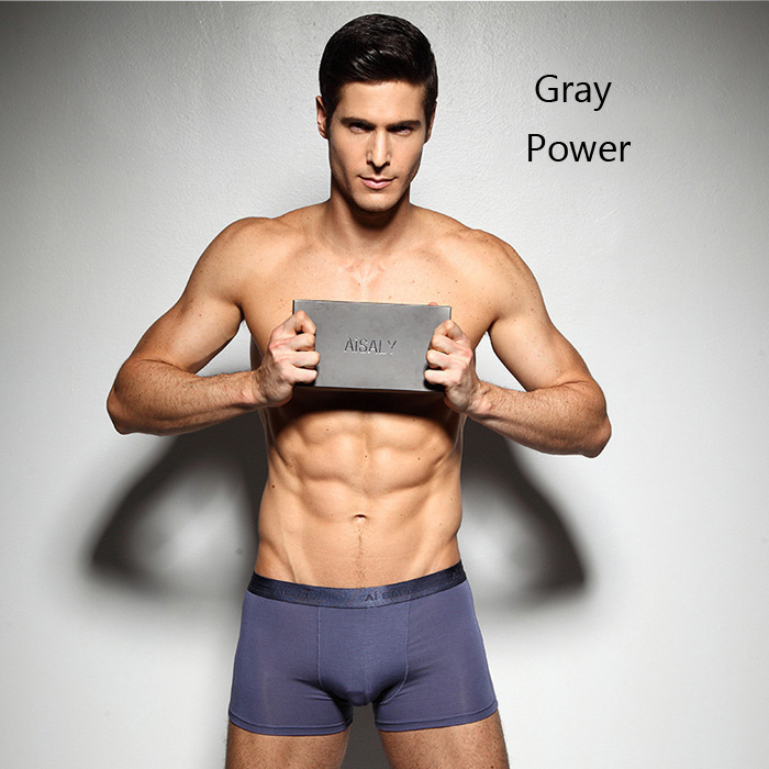 Aisaly Sexy U Convex Pouch Breathable Man Boxer Briefs