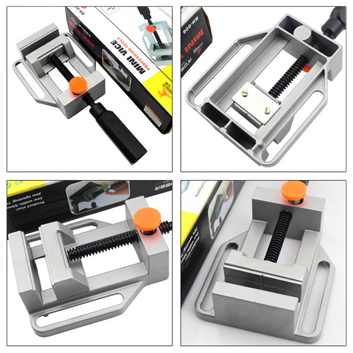 CC23 Aluminum Alloy Flat Clamp Bench Vise for Milling Machine