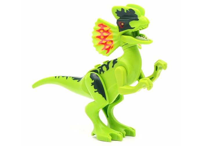8 Box / Set Dinosaur Style Building Block Educational Movie Product Kid Toy