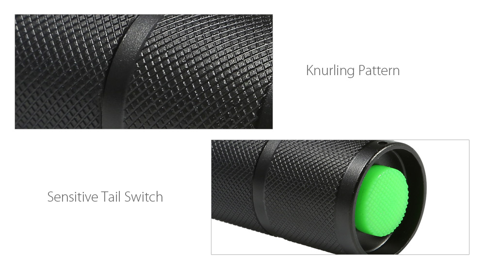 UKing ZQ - G7000 1000Lm Cree XML T6 Zoomable LED Flashlight Torch
