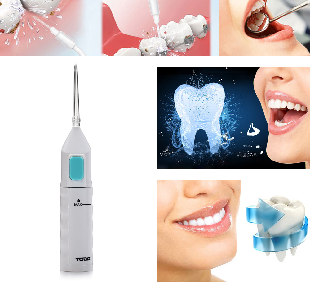 TODO AR - W - 11 Oral Irrigator Dental Water Jet Floss Pick Teeth Cleaning Flusher