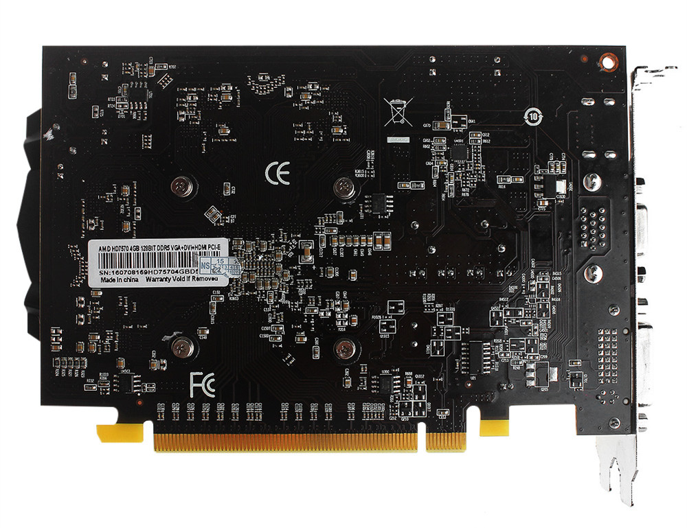 DN160206 Graphic Card ATI Radeon Dropship 4GB DDR5