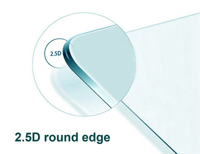 Tempered Glass Screen Protective Film for DOOGEE X5 Max 0.3mm 2.5D 9H Explosion-proof Membrane
