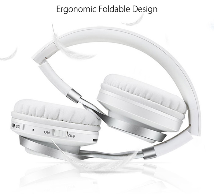 SOUND INTONE BT - 06 Bluetooth 4.0 Headband Headphones with Mic Hands-free Calls Volume Control
