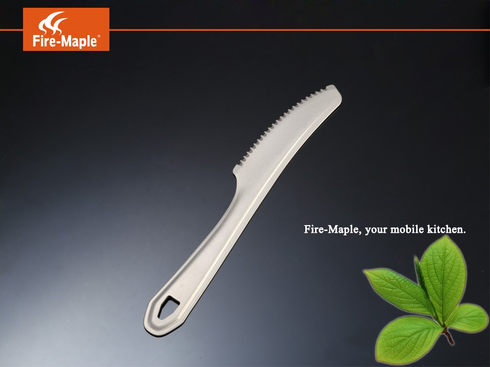 Fire - Maple FMT - T22 Titanium Table Knife for Camping