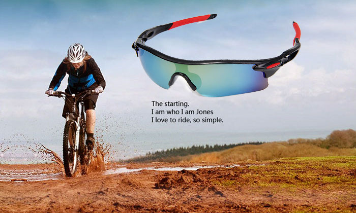 UV400 Explosionproof Sports UV400 Sun Glasses for Outdoor Cycling Camping