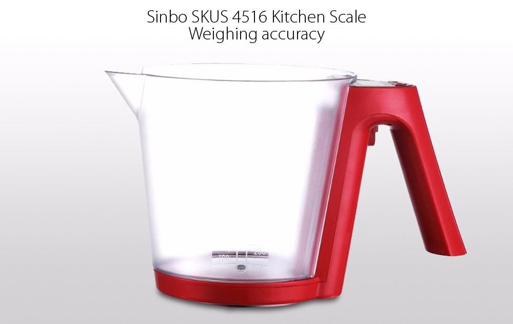 Sinbo SKUS 4516 Electronic Kitchen Scale