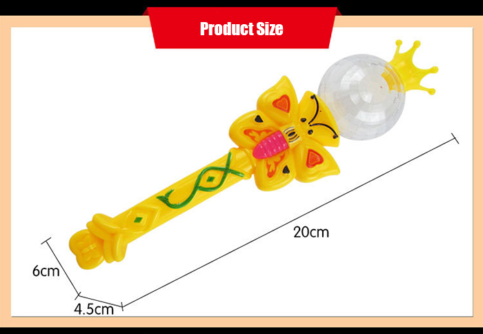 Princess Performance Accessory Magic Wand and Crown Toy - 1pc