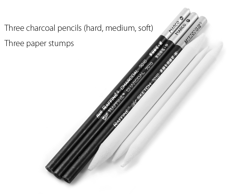 Marco 25 in 1 Pencil Kit for Artist Sketch