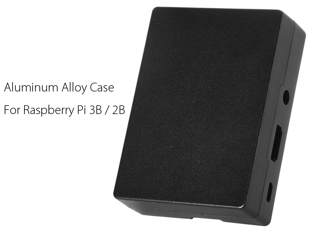 Aluminum Alloy Case for Raspberry Pi 3B / 2B