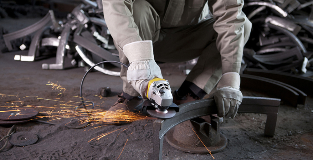 STANLEY STGS8100 - A9 Electric Angle Grinder Power Tool 850W 100mm