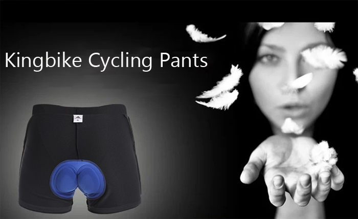 Kingbike Quick-drying Men Cycling Pants Underpants with Silicone Cushion Bike Bicycle Trousers Clothes