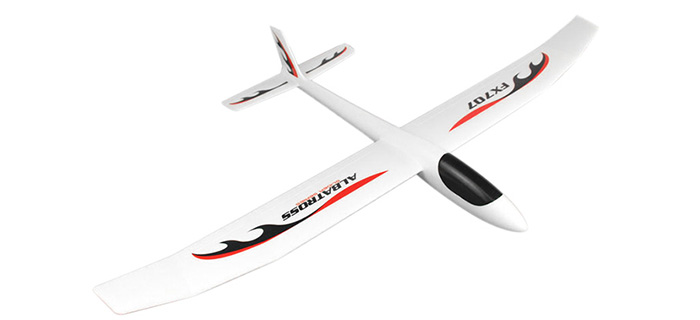 Flybear FX - 707 RC Airplane Model Hand Throwing KIT Version 1200mm Wingspan Fixed-wing Aeroplane