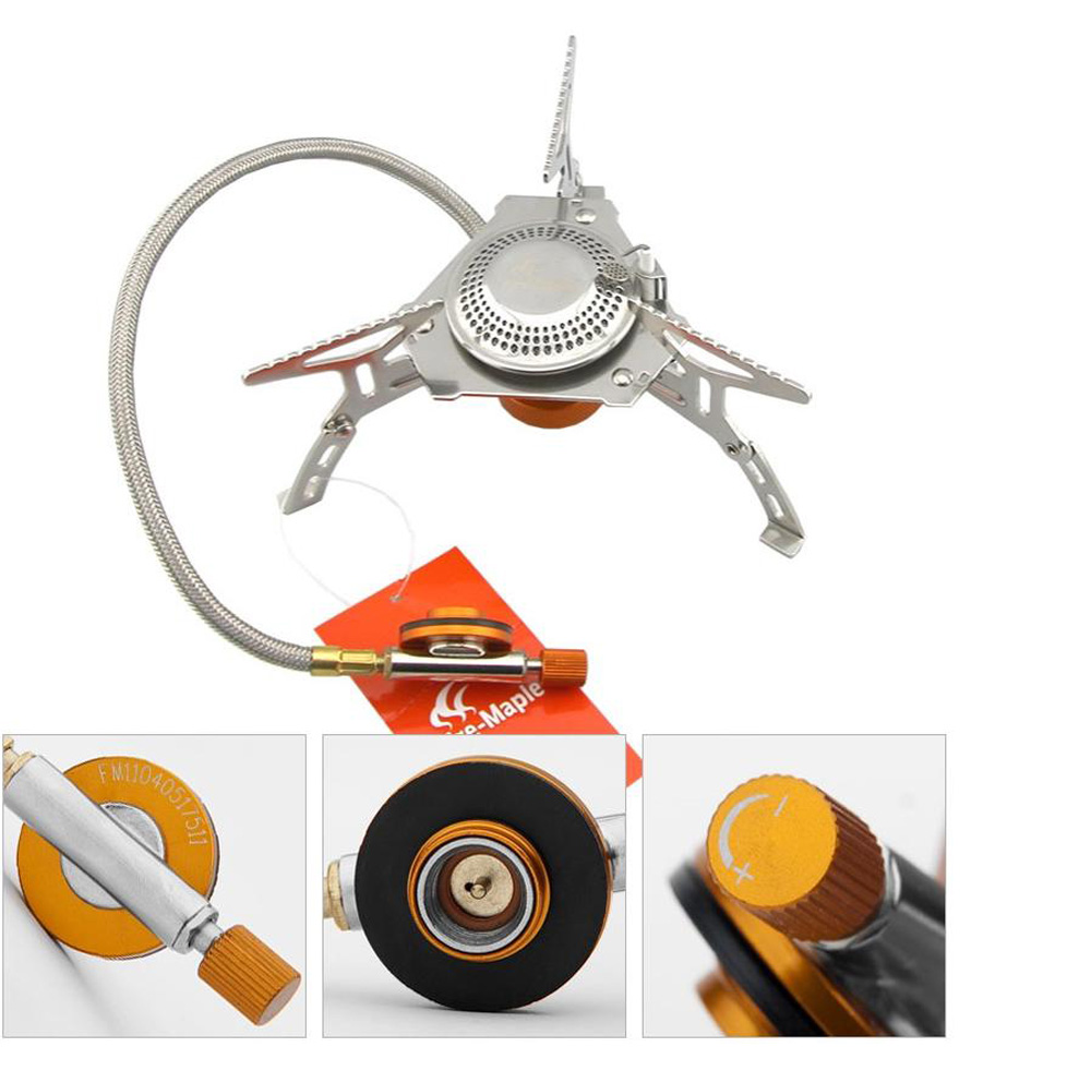 Fire - Maple FMS - 105 Stainless Steel Burner Camping Remote Gas Stove
