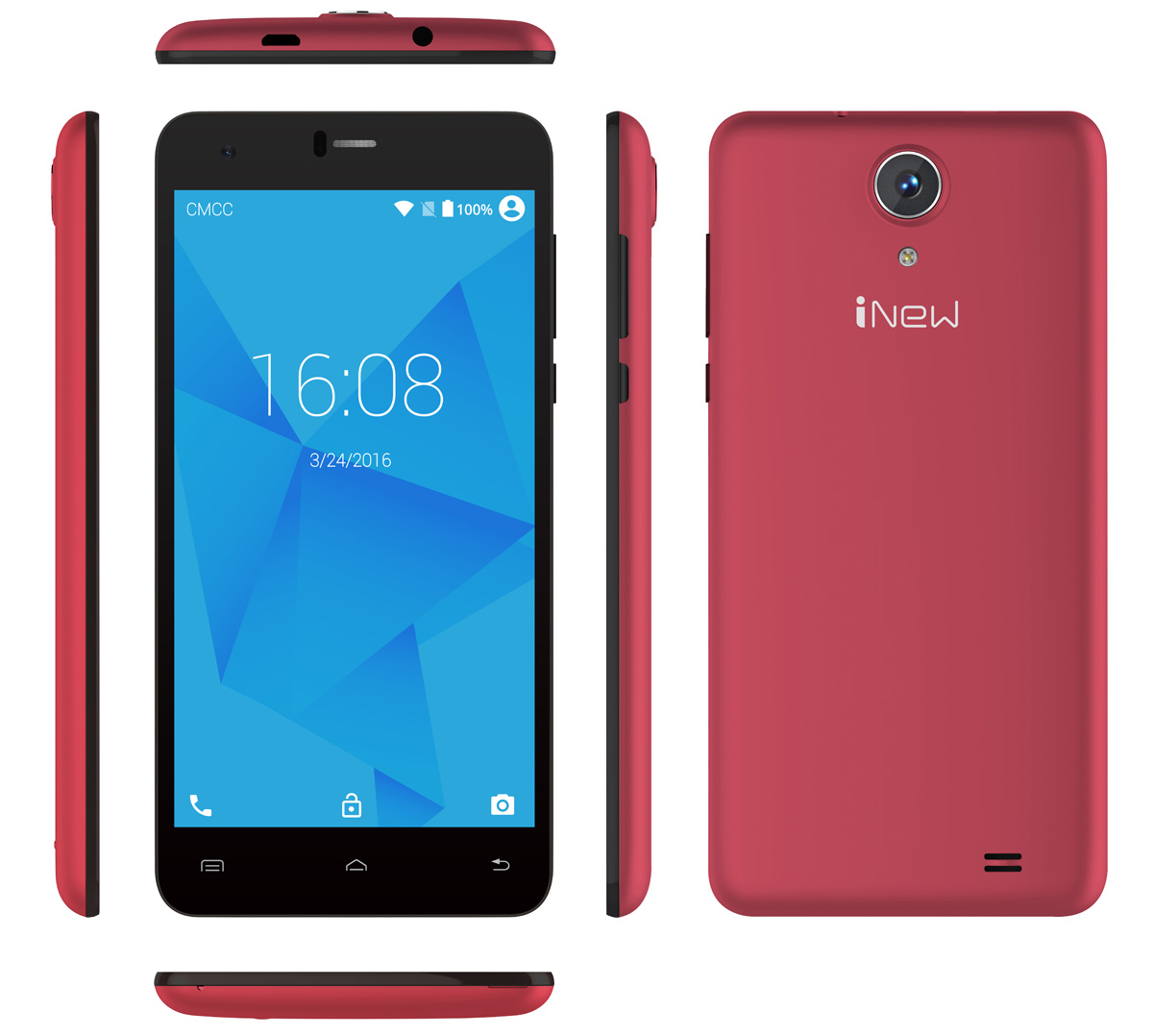 iNew U8W Android 5.1 5.5 inch 2.5D Arc Screen 3G Phablet MTK6580 1.3GHz Quad Core 1GB RAM 8GB ROM GPS Light Sensor Bluetooth 4.0